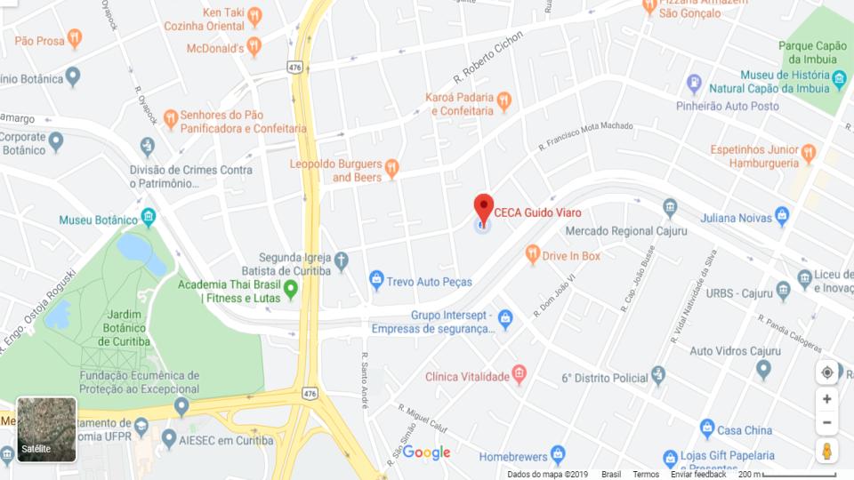 Mapa CECA Guido Viaro